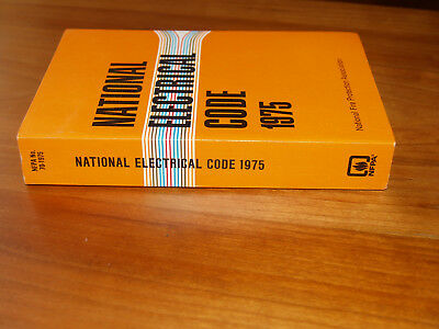 1975 National Electrical Code, Nfpa 70, New