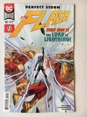 DC Comics: The Flash #40 (2018) - BN - Bagged and Boarded