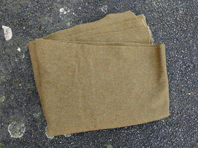 US ARMY WW2 1942 Wool virgin Blanket Depot Wolldecke Decke 1,70 x 2,10m