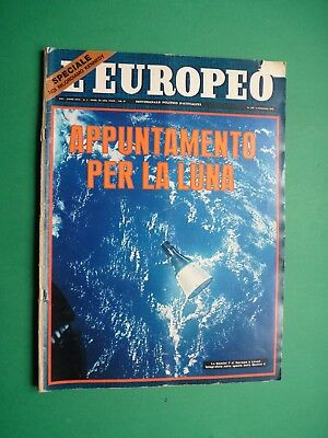 L'EUROPEO 1966 1051 URSULA ANDRESS (6 pag!) Robert KENNEDY John Jacqueline SPACE