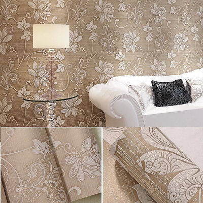 10m 3D Wallpaper Bedroom Living Modern Wall Background Home Stripe Mural Roll