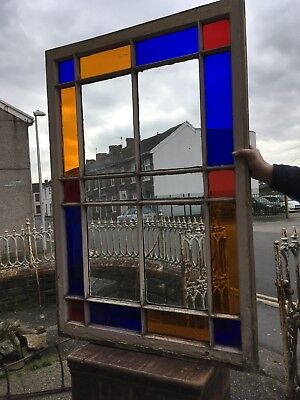 antique Large Coloured Window