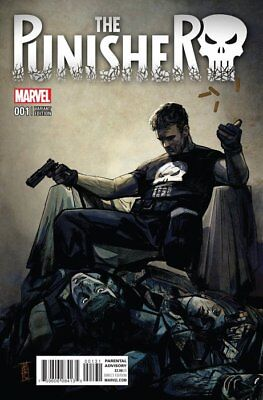 The Punisher  #1 - Variant Edition - Alex Maleev -Marvel Comic -  2016 Near Mint