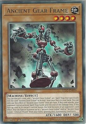 Yu-Gi-Oh: ANCIENT GEAR FRAME  - LED2-EN030 - Rare Card - 1st Edition