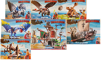Playmobil® Dragons Set 7 teilig 9243 9244 9245 9246 9247 9248 9249 Neu
