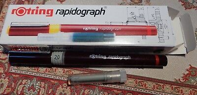 rOtring  Isograph Tuschefüller 2,0 mm