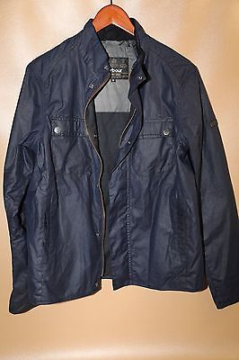 #91 Barbour International Lock Wax Jacket Size M
