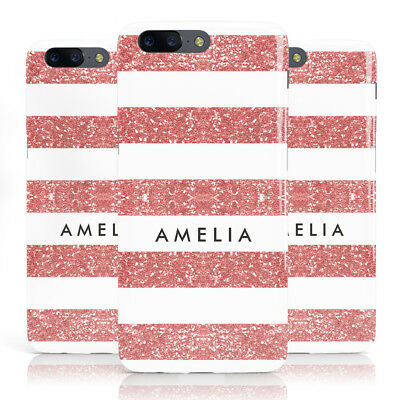 DYEFOR PERSONALISED FLORAL Transparent & Name Phone Case