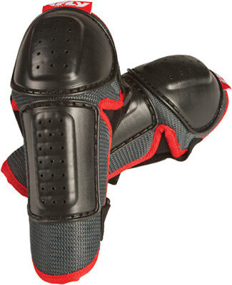 Fly Racing Black/Red Adult & Youth Fly Elbow Guard Dirt Bike Protection Armor