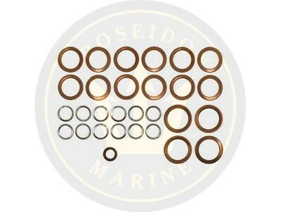 Fuel washer seal kit fuel pipe for Volvo Penta MD1A MD1B MD2A MD2B MD11C