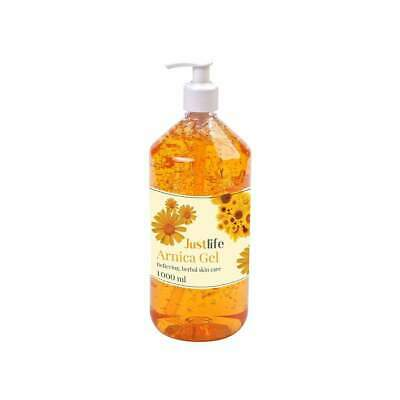 Healthlife Arnica Gel 1 Litre with Pump | For muscular aches, pains & stiffness