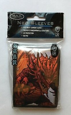 MAX PROTECTION NEO CARD SLEEVES 50 pochettes protege cartes DEMON DRAGON