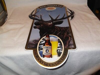 Rare Vintage 1991 Coors Limited Edition Rocky Mountain Elk Signed And Numbered