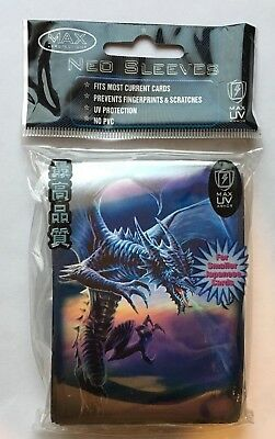 MAX PROTECTION NEO CARD SLEEVES 50 pochettes SMALL protege cartes  ICE DRAGON