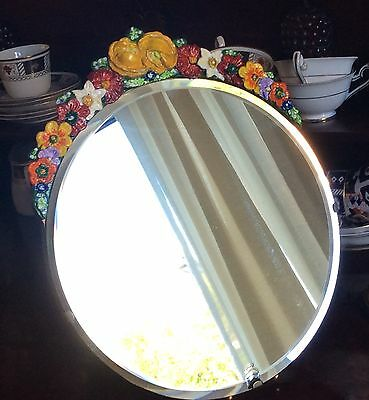Barbola Vintage dressing table mirror 1930s