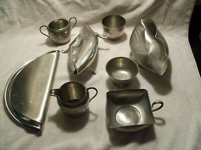 Scrap Pewter Lot 4.78 lbs All Marked (for Reloading Crafts Casting etc.