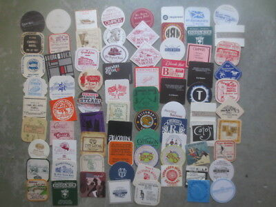 77 different HOTELS in Australia   Issued collectable COASTERS