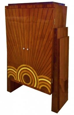in 4 weeks BEST Art deco style cabinet bookcase bar