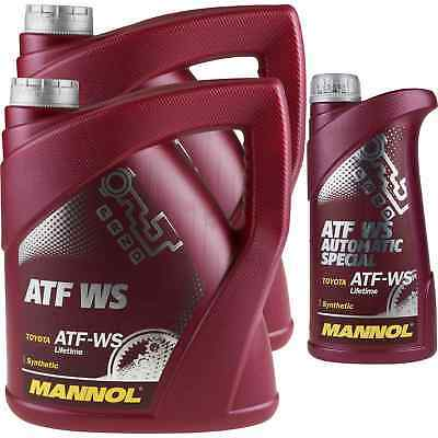 9 Litre Mannol ATF WS Automatic Special Transmission Fluid Oil 11192140