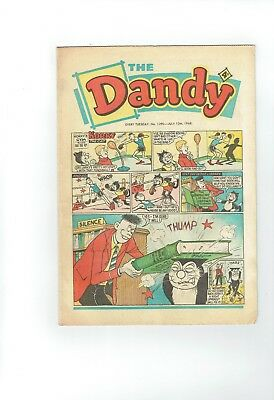 Dandy Comic From 1968 Number 1390