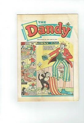 Dandy Comic From 1968 Number 1384