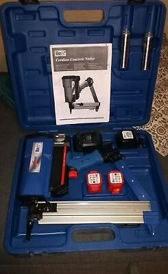 Dynamik CN60-688ES Concrete Nailer Gas Fired cordless
