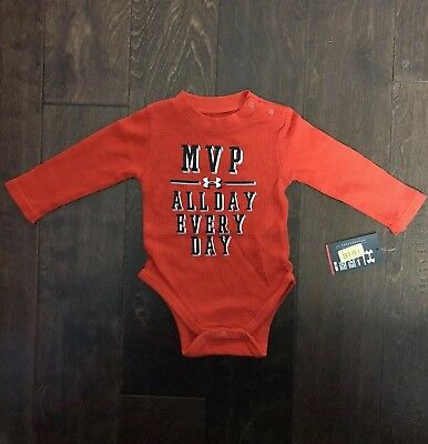 Brand New Under Armour/Carter's Baby Boy One Piece Bundle Lot