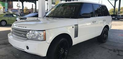 2006 Land Rover Range Rover  White with Black 2012 Wheels - Tan Inside