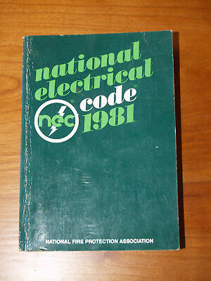 1981 National Electrical Code, NFPA 70