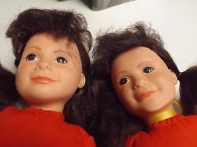Punky Brewster Doll x 2 - A Pair of Dolls - 1984 by Lewis Galoob Toys