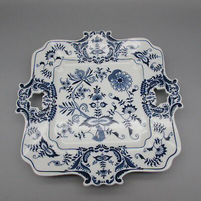 Japan China BLUE DANUBE Square Platter / Cookie Tray