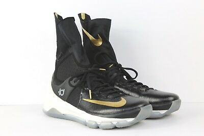 Mens Size 8.5 Nike KD 8 Elite Gold Medal Basketball Sneakers [834185 071]