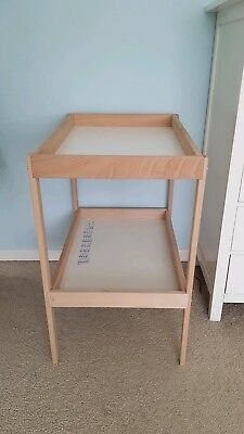 Ikea Sniglar Baby Changing Table Unit