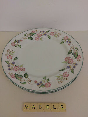 Bhs ~VICTORIAN ROSE~ dinner plates x 4