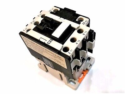 ACI 130092 C23.311-120 Contactor 110/120 V Coil with Aux Contact block NCF4-11