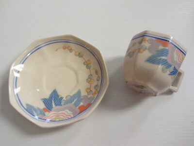 ROYAL DOULTON - Windsor D5566 Pattern - Coffee Duo - England