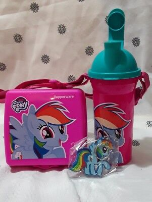 Tupperware Little pony Lunch set