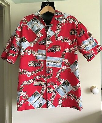 Vintage Hilo Hattie Road Trip Shirt The Hawaiian Original size M VERY RARE