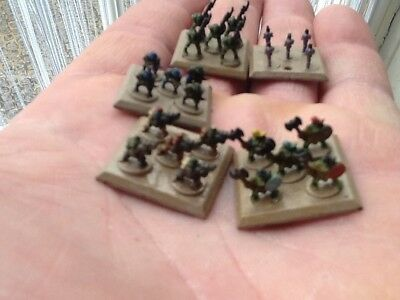 """A massive JOBLOT of epic scale WARHAMMER over 600 pieces """"painted"""""""