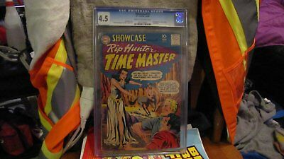 Showcase #21 2nd appearnce of Rip Hunter CGC 4.5