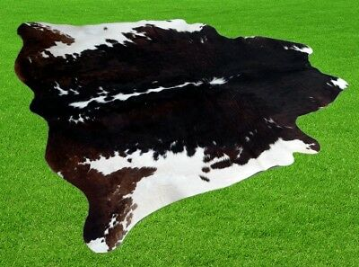 """New Cowhide Rugs Area Cow Skin Leather 20.98 sq.feet (57""""x53"""") Cow hide A-513"""