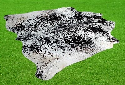 """New Cowhide Rugs Area Cow Skin Leather 28.38 sq.feet (67""""x61"""") Cow hide A-526"""
