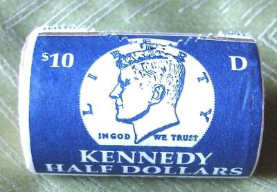 2007 D Full ROLL OF KENNEDY HALF DOLLARS - BRILLIANT UNCIRCULATED - MINT WRAPPED
