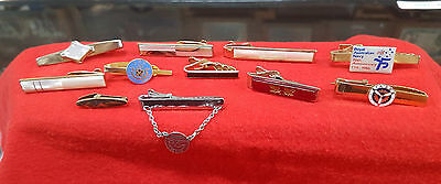 Tie Bars Mixed Lot Of 11