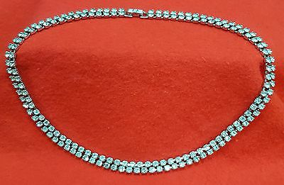Vintage Crystal Necklace Circa 1950 To 1960