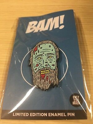 Bam Box Exclusive Walking Dead Limited Edition Enamel Pin by Artist Nick Cocozza