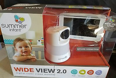 Summer Infant Wide View 2.0 Video Monitor & Camera  29580 BOX