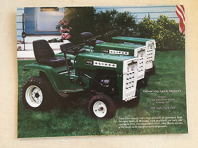 Oliver Tractor Collectors Calendar for 2010