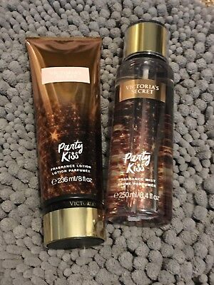 Victoria Secret Party Kiss Lotion And Spray Set