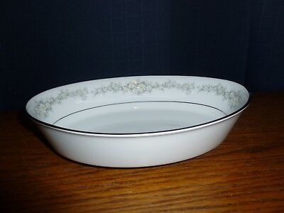 "Contemporary Noritake Donegal Oval Vegetable Bowl 9"" #2179  EUC"